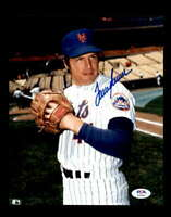 Tom Seaver PSA DNA Cert Hand Signed 8x10 Mets Photo Autograph
