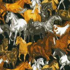 Horses for Courses Fat Quarter by Nutex 100% Patchwork Quilting Cotton Fabric
