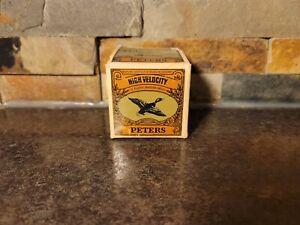 Vintage RARE PETERS 410 Gauge Shotgun Shell Box (Empty)