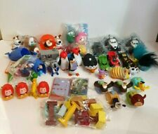 Bulk Lot McDonald Figurines Toys Happy Meal Figures Snoopy Mario TY Angry Birds