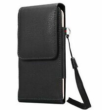 for Samaung Galaxy  S8 Plus Leather Pouch Holster Case with Belt Clip Hand Strip