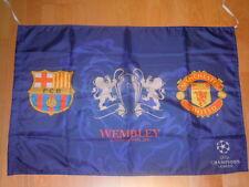 BANDERA OFICIAL FINAL CHAMPIONS LEAGUE 2011 FC BARCELONA vs MANCHESTER UTD FLAG