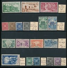 FRENCH COLONIES SAHARA 1921-42 MINT + FINE USED RANGE 18 stamps...cv £60+