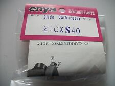 ENYA. 21CX SLIDE TYPE BUGGY R/C CARB ASSY NIP