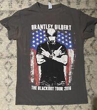 Brantley Gilbert Concert T-Shirt- The Blackout Tour 2016 (Small)