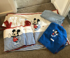 Nursery Cot Crib Cotbed Bedding disney mickey mouse Boys Bumper