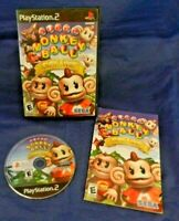 Sony PlayStation 2; Super Monkey Ball Deluxe, w/ Manual, VG, Free Shipping