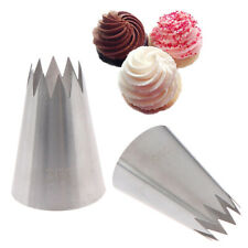 #366 Large Open Star Piping Nozzle Icing Cream Nozzles Bakeware Pastry Tips_tRIB