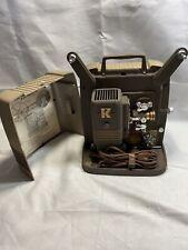 Vintage Keystone 100G 8mm Film Projector Working Z5