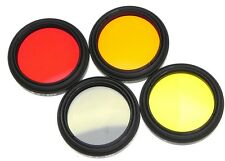 4 Leica Filters Set for Leica 500mm f8 Telyt-R  #1