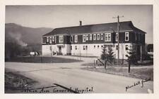 Photo. ca 1947. Salmon Arm, BC Canada. Salmon Arm General Hospital