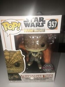 TRANDOSHAN THUG FUNKO POP STAR WARS THE MANDALORIAN #357