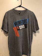 Mumford & Sons Concert T Shirt 2016 The Austin 5000 Size Large
