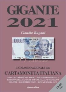 17a EDIZIONE Catalogo Nazionale CartaMoneta ITALIANA GIGANTE 2021
