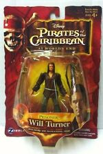 "Zizzle Disney Pirates of the Caribbean Prisoner Will Turner 4"" Figure 2007 NEW"