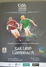 Limerick v Galway All-Ireland GAA Hurling final programme August 2018 Croke Park