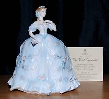 Royal Worcester The First Quadrille Limited Edition Figurine With Coa