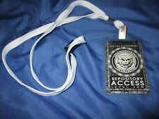 HALLOWEEN HORROR NIGHTS 26 Universal Studios Theme Park Lanyard Badge REPOSITORY