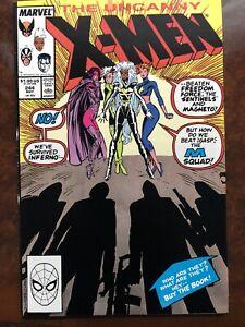 Uncanny X-Men 244 VF 1st Jubilee Marvel