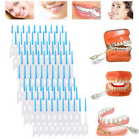 80 Pcs Soft Clean Interdental Brushes Disposable Toothpick Dental Oral Care Tool
