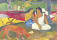 Paul Gauguin - Arearea - A3 size 29.7x42cm QUALITY Canvas Art Print Unframed