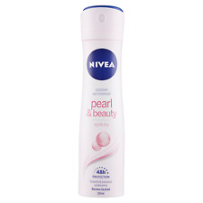 Nivea Pearl & Beauty Deodorant Antiperspirant Quick Dry Underarm Spray 150ml
