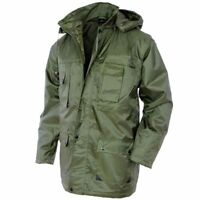 Mil-Tec Military PARKA 'Dubon' - Mens Hooded Winter Jacket Olive OD Green