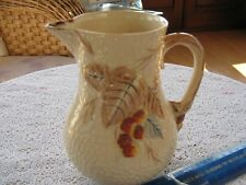 """*RARE* WADE JUG BRAMBLE """"BROWN LEAF"""" PATTERN. Excellent Condition"""