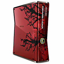 Microsoft Xbox 360 S Gears of War 3 Limited Edition 320GB Red & Black Console...