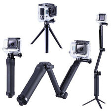 HAND GRIP ARM 3-Way Selfie Bastone Monopiede Treppiede per GoPro Hero 1,2,3,3+, 4
