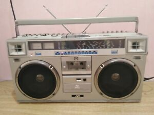 Vintage JVC RC-M70W Boombox Ghetto Blaster Stereo Cassette  - Working