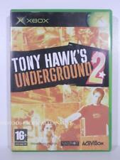 jeu TONY HAWK'S UNDERGROUND 2 pour XBOX (first gen) en francais skate COMPLET