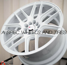 17X9 F1R F18 WHEEL 5x100/114.3 +25MM WHITE RIM FITS HONDA ACCORD CIVIC