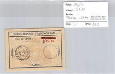 BILLET ALGÉRIE - 2.10 FRANCS - TLEMCEN - ORAN