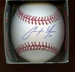 Christian Yelich #21 Single Signed Official MLB Selig Baseball