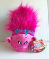 """Pillow Pets TROLLS Dreamworks Poppy Plush Large 18"""" New with Tags Dark Pink"""