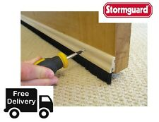 Stormguard 838mm Bottom of The Door Brush Strip Draught Excluder 02SR0320838WO
