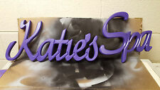 Personalized Name Wall Hanging Wood Sign. Great for kids rooms, den etc