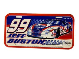 NASCAR #99 Jeff Burton Citgo Roush Racing Plastic License Plate