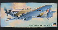 HASEGAWA 51339 - HURRICANE Mk.IIC - 1:72 - Flugzeug Modellbausatz - Model KIT