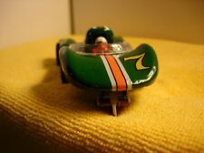 COX La Cucaracha in British racing green slot car 1/32 offered by MTH