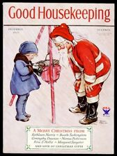 Good Housekeeping magazine Decemebr 1933 Christmas special Santa Very Fine