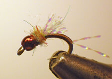 Cheeseman Emerger Guide's Choice-Choc. #20. Fly Fishing Flies-Trout-Wet