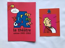 TINTIN BROCHURE ADHESION Theatre Les bijoux de la Castafiore Am Stram Gram HERGE