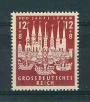 Germany 1943 800th Anniversary of Lubeck stamp. MNH. Sg 850