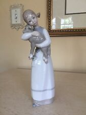 LLADRO 1010 Girl with Lamb Retired Mint Condition! OLDER MARK! No Box
