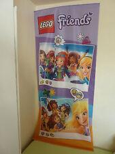 LEGO FRIENDS WERBE BANNER PLAKAT SCHILD ADVERTISING LABEL SIGN