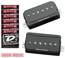 Seymour Duncan P-Rails SHPR-1s ( 6 STRING SETS ) Black Pickup Set P 90 Humbucker