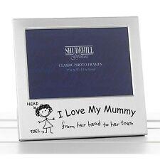 I Love my Mummy Photo Frame Christmas Birthday Mothers day Gift Present Memories
