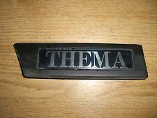 Emblem Badge Kotflügel Fahrerseite links Front Wing left Lancia Thema